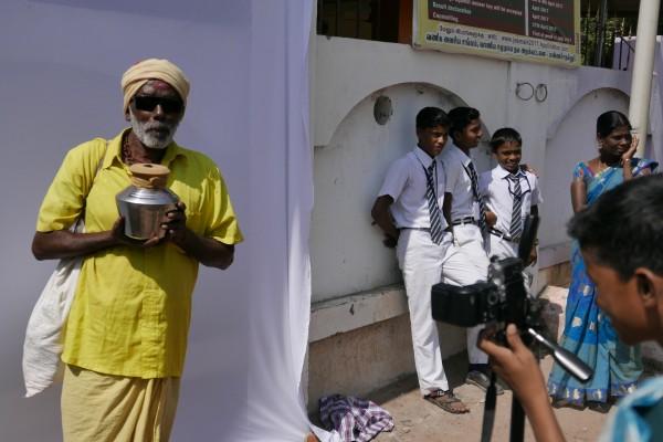 Atelier de street photography, Rachel Monosov et Lisa Lapierre, Inde, 2017 © THALIE ART FOUNDATION